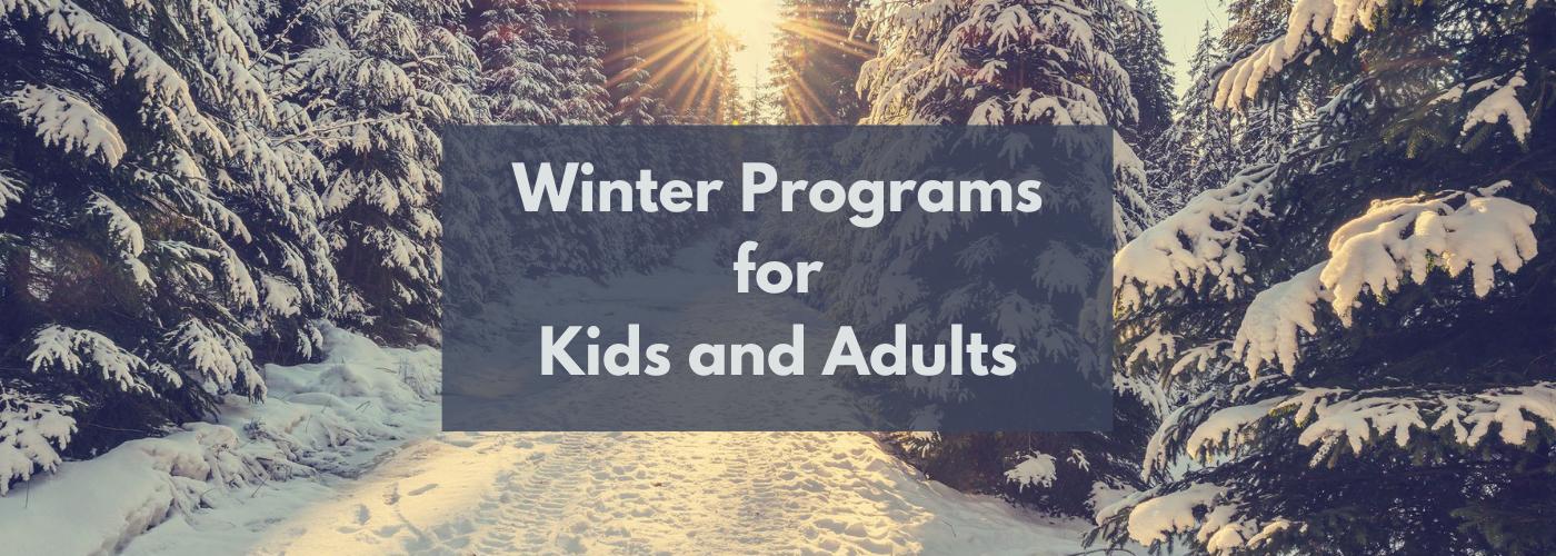 Winter Program banner