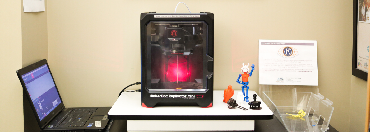Try 3D Printing at the Paris Branch