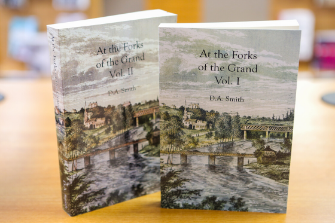 Book cover of At the Forks of the Grand