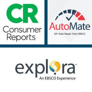 logos from Consumer Reports and other databases